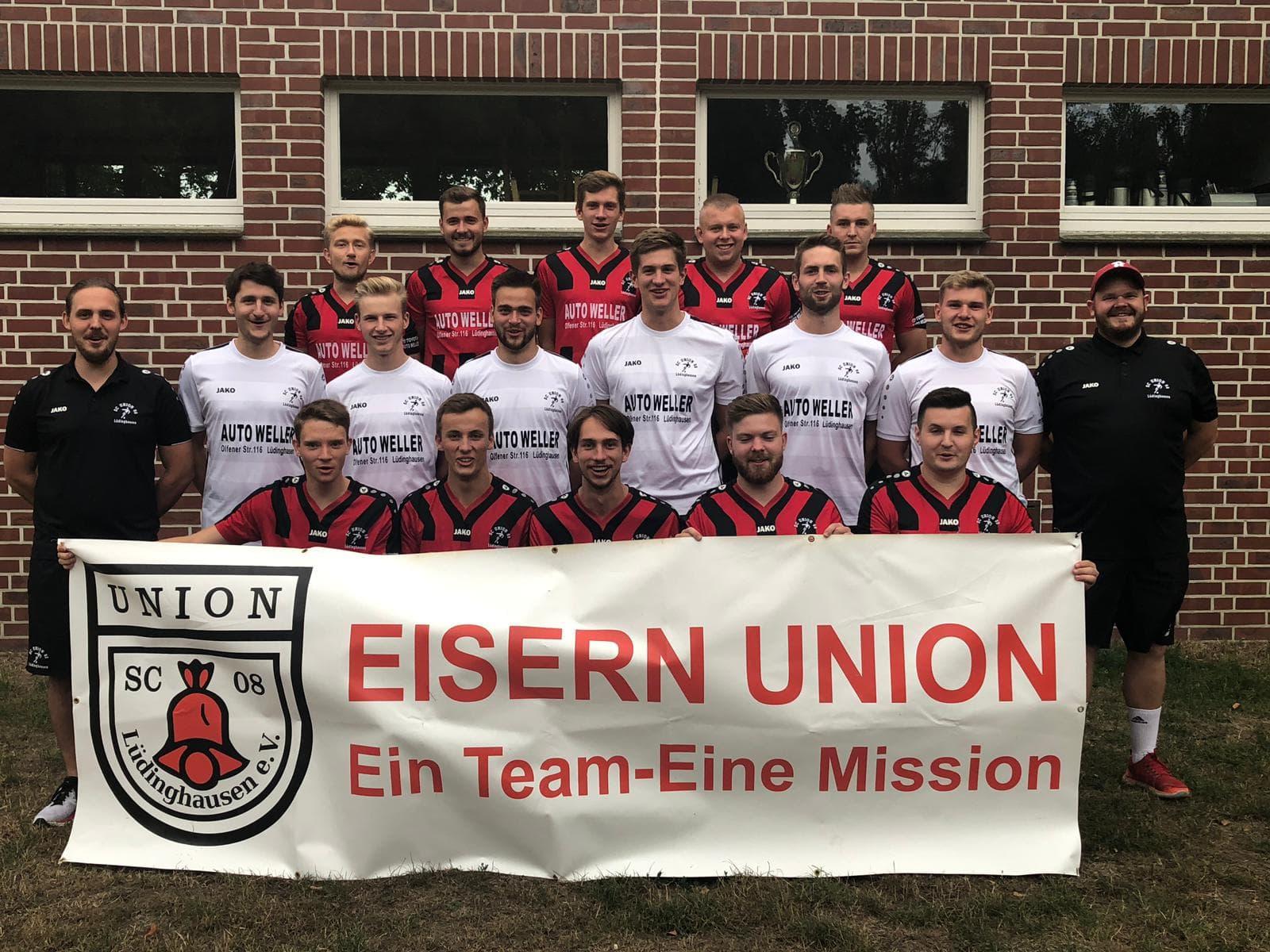 Kreisliga B 2 Ahaus-Coesfeld: Union Lüdinghausen II – SV Eggerode (Sonntag, 13:00 Uhr)