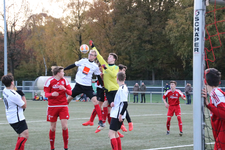 Spielszene Union 08 A1 - Eintracht Ahaus A1 2:0 (1:0)