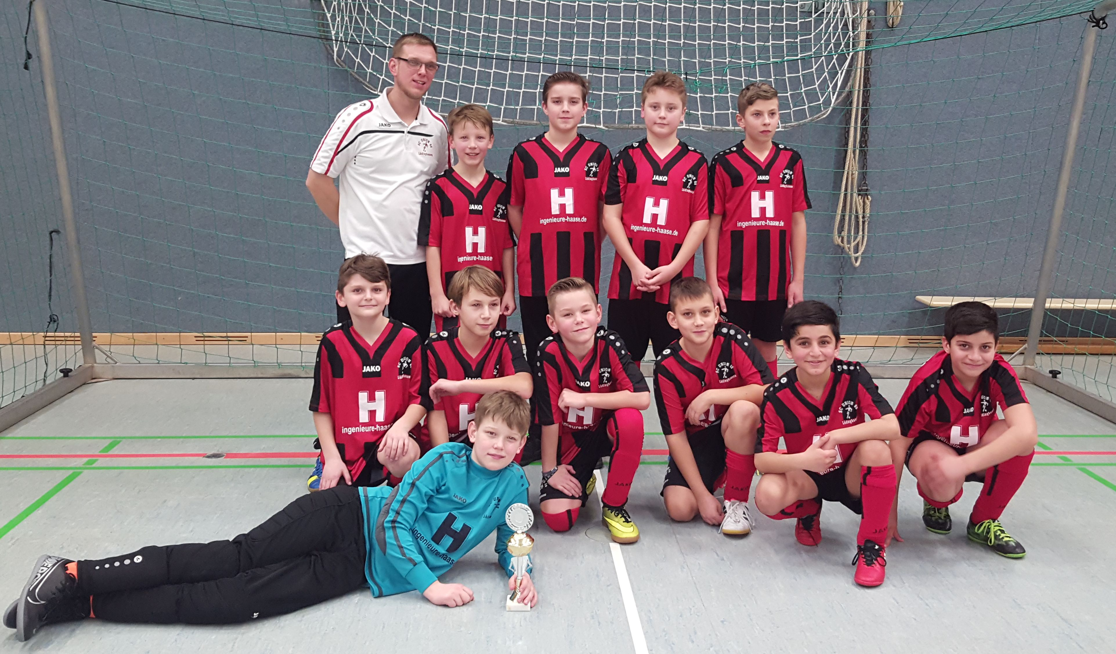 Union Lüdinghausen U11 - Karnevalsturnier in Ascheberg