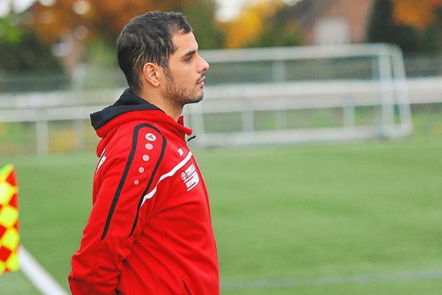 Auch Ex Union Coach Mahmoud Abdul-Latif (jetzt Fortuna Seppenrade) freut sich über die Erleichterung