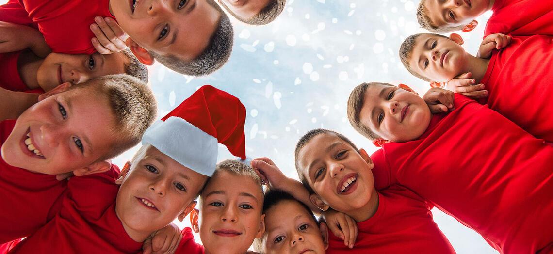 Du bist auf der Suche nach einem idealen Ort für eure Weihnachtsfeier? Na, dann ab ins Deutsche Fußballmuseum! Für alle Kinder- und Jugendgruppen (bis 19 Jahre) wurde ein super Angebot geschnürt. Foto: Dt. Fußballmuseum