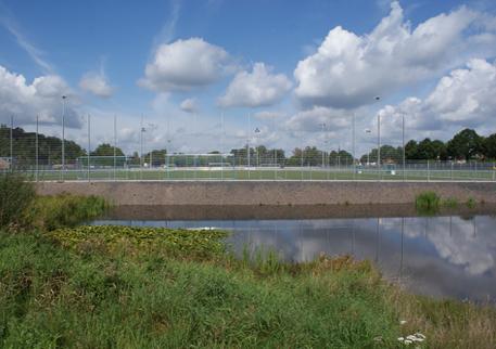 Weit und breit kein Fußballer: Am Westfalenring ruht bis Mitte April das Geschehen.